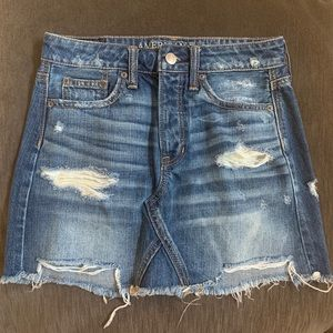 American Eagle Outfitters size 00 denim skirt